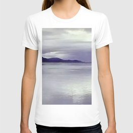 River View in Purple T-shirt