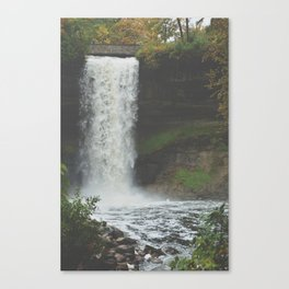 Water Falls and We Rise Canvas Print