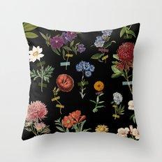 Vertical Garden IV Throw Pillow