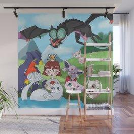 pokefriend Wall Mural