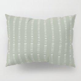 succulent green lines Pillow Sham