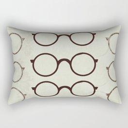 (Glasses) Rectangular Pillow
