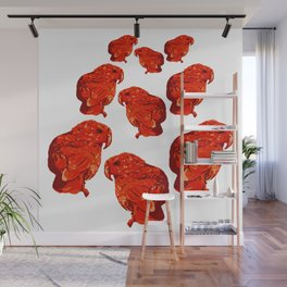 Kea Cool - Family reds Wall Mural