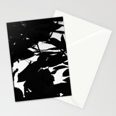 Dark Fall Leaves Stationery Cards