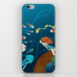 Fish conference iPhone Skin