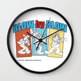 Blow By Blow Wall Clock