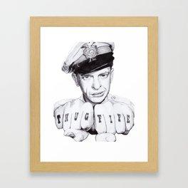 Thug Fife Framed Art Print
