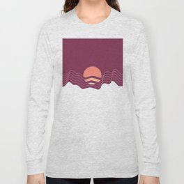 Sunrise in the Mountains Long Sleeve T-shirt