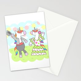 Unicorn Flamenco Stationery Cards