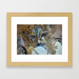 Venetian Mask Framed Art Print
