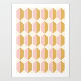 Zola Pattern - Sunrise Kunstdrucke
