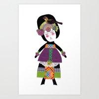 Carmela Art Print