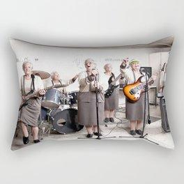 Rock Band Rectangular Pillow
