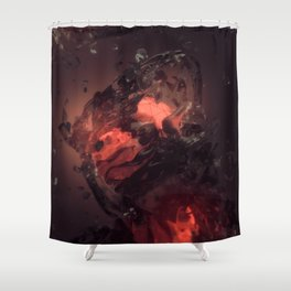 Embers Shower Curtain