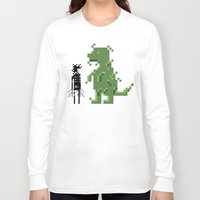 edward scissorhands Long Sleeve T-shirts featuring Edward Scissorhands by Raquel Segal