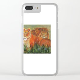 It's Good to be King Clear iPhone Case