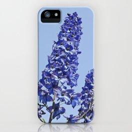blue blue blue IV iPhone Case