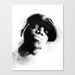 Biggie Smalls Tribute Canvas Print