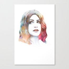 Deity II Canvas Print