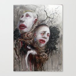 Quarrels and Lullabies Canvas Print