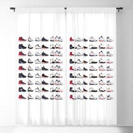 Air Jordan Series Collection 1-14 Blackout Curtain