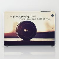 tool iPad Cases featuring Photographer's Tool  by Jo Bekah Photography