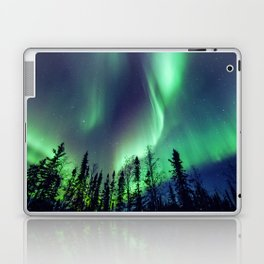 Northern Lights in Yellowknife Laptop & iPad Skin