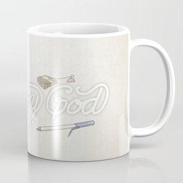Everyday God (flowers version) Coffee Mug
