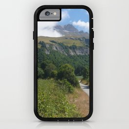 The road to paradise iPhone Case