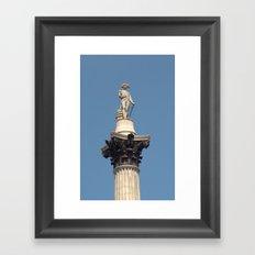 Nelsons Column Framed Art Print
