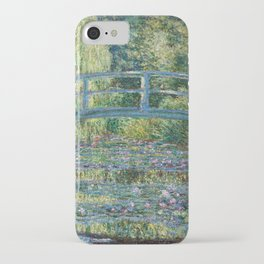 Claude Monet - Water Lily pond, Green Harmony iPhone Case