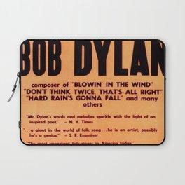 Vintage 1965 Waikiki Shell Hawaii Bob Dylan Concert Poster Laptop Sleeve