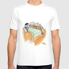 Not So Fast #1 Mens Fitted Tee White MEDIUM