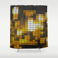 chandelier Shower Curtains featuring Chandelier by Hayley Q. Drewyor