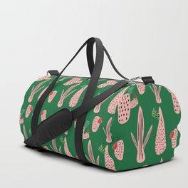 Mid Mod Cactus Green Duffle Bag