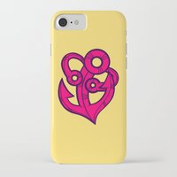 anchor iPhone & iPod Cases featuring Anchor by Artistic Dyslexia