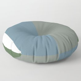 Parable to Behr Blueprint Color of the Year and Accent Colors Vertical Stripes 10 Floor Pillow