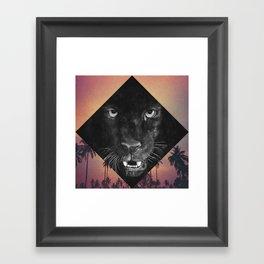 Panther Framed Art Print