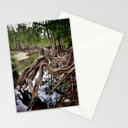 Alien Landscape Stationery Cards