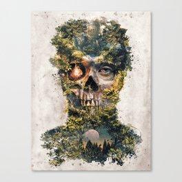 The Gatekeeper Surreal Dark Fantasy Canvas Print
