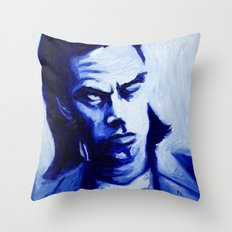 Mr Cave Throw Pillow