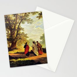 Road To Emmaus Stationery Cards