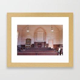 A Silent Congregation Framed Art Print