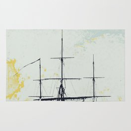 All Masts Up Rug