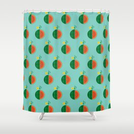 Fruit: Watermelon Shower Curtain