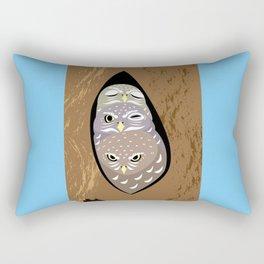 Tree hollows Rectangular Pillow