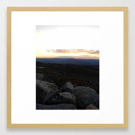 Mount Kosciusko Framed Art Print
