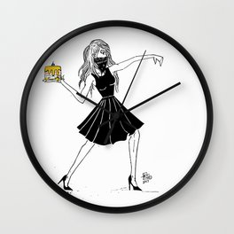 Cake That! Wall Clock