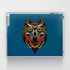 Oldschool Owl Laptop & iPad Skin