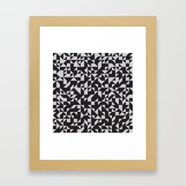 Girard Inspired Geometric Pattern Framed Art Print